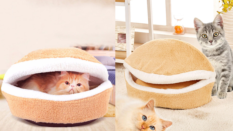 Pet Bed Soft hamburger