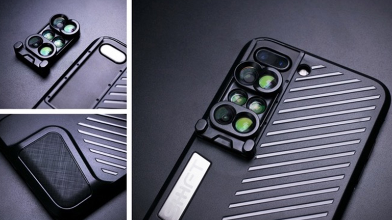 Phone Case with Lenses