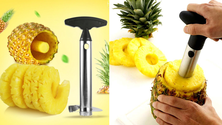 Steel Pineapple Peeler