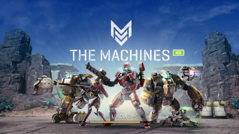 The Machines AR game